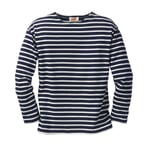 Sailor Shirt with Long Sleeves by Armor lux navy-nature