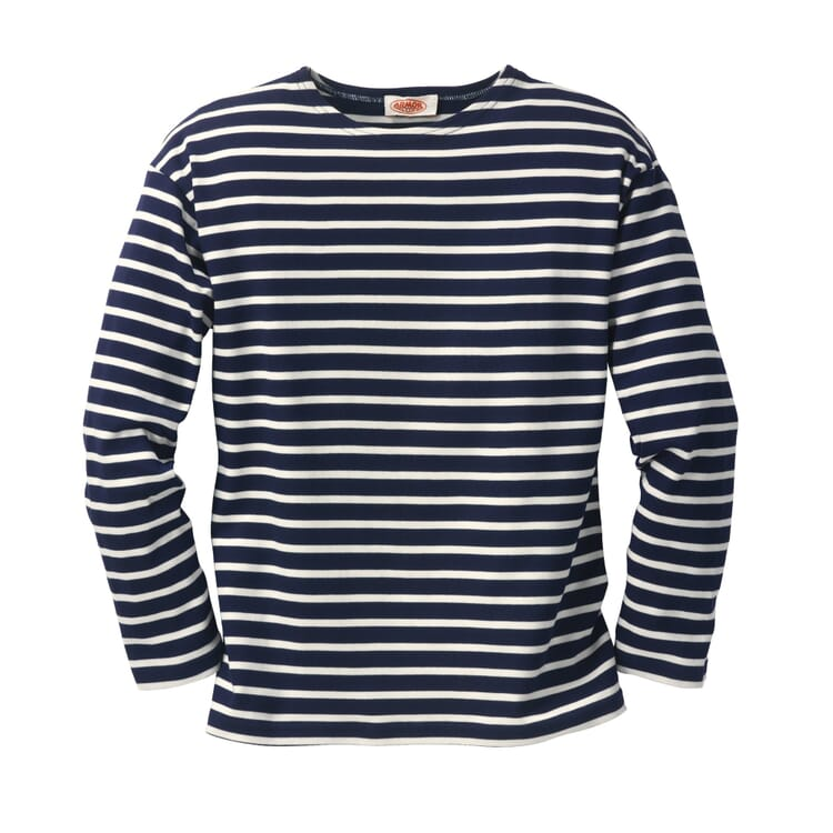 Sailor Shirt with Long Sleeves by Armor lux, navy-nature