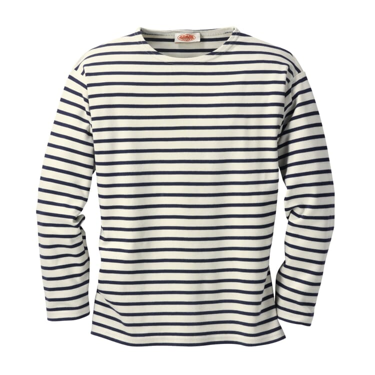 Sailor Shirt with Long Sleeves by Armor lux, Nature-Navy