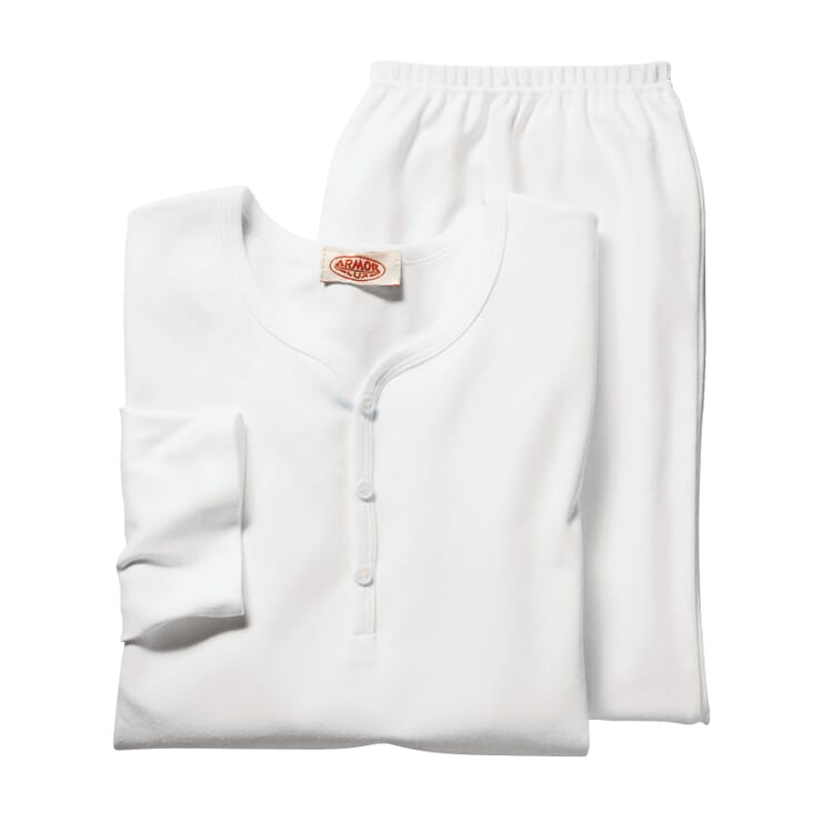 Armor lux Schlafanzug, Weiß
