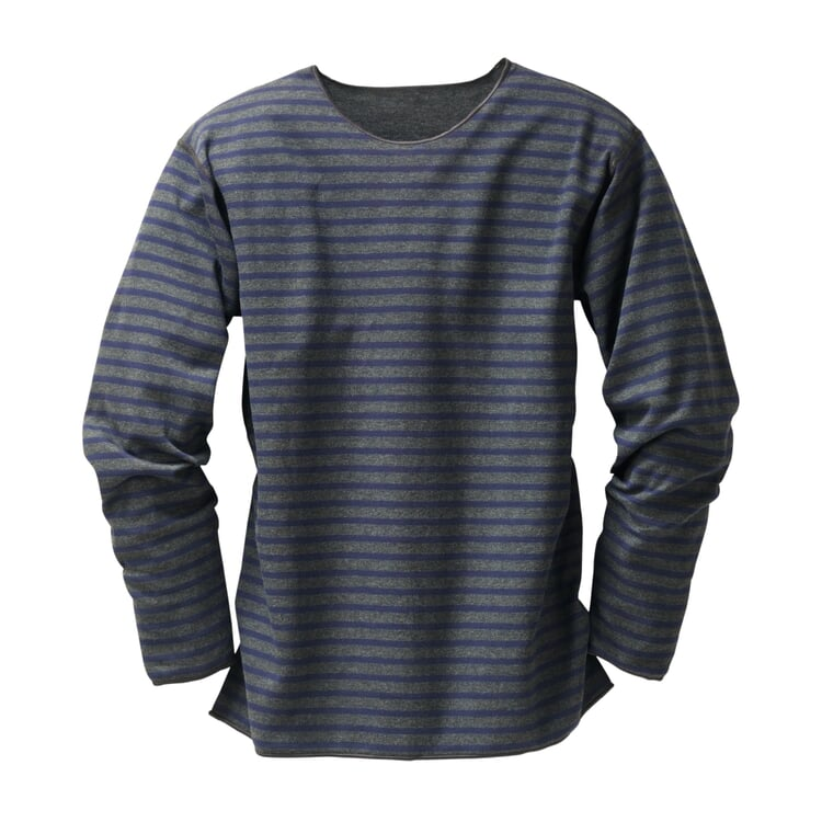 Armor lux Striped Shirt Anthracite