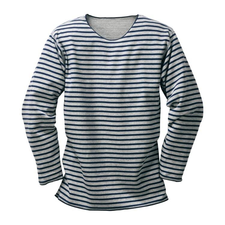 Armor lux Streifen-Shirt, Hellgrau