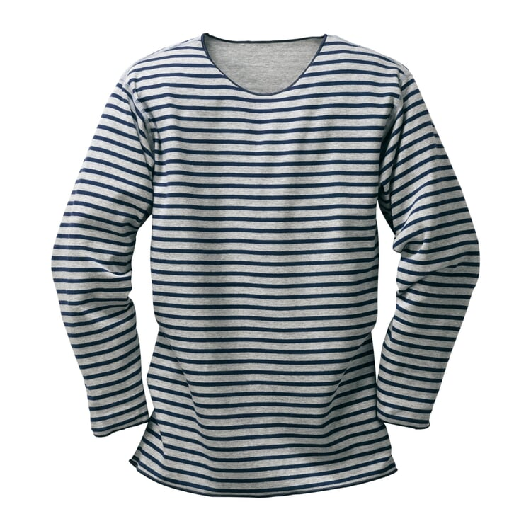 Armor lux Striped Shirt Light Grey