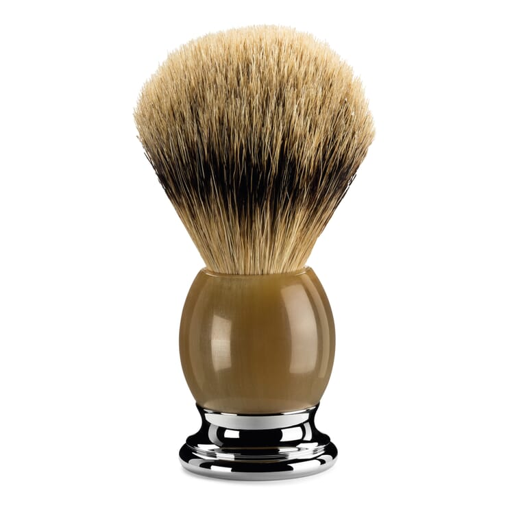 Mühle Badger Hair Shaving Brush, Horn