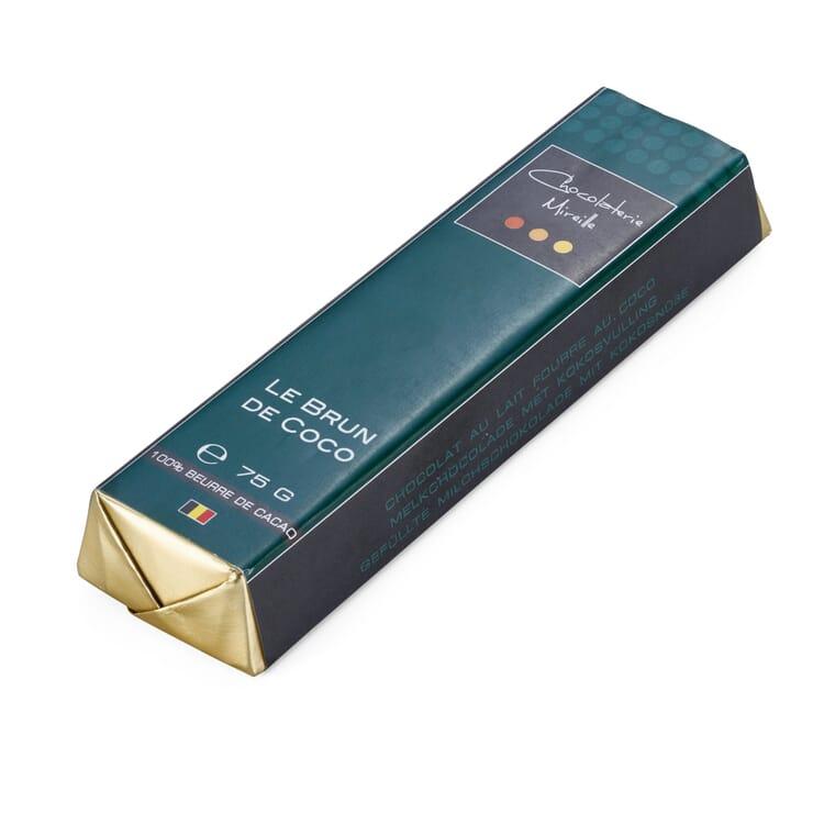 Belgischer Schokoladenriegel Le Brun de Coco