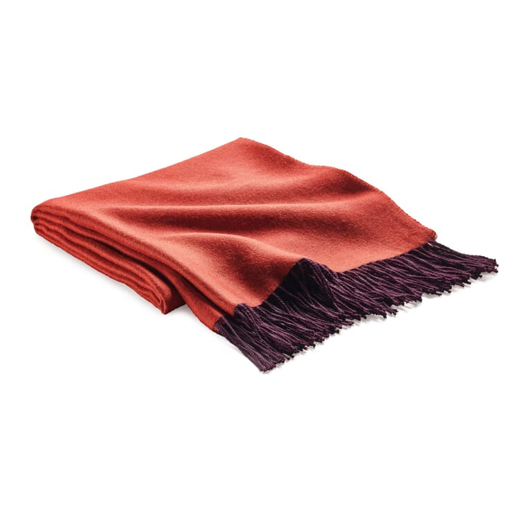 Blanket Double-Faced Fabric, Berry