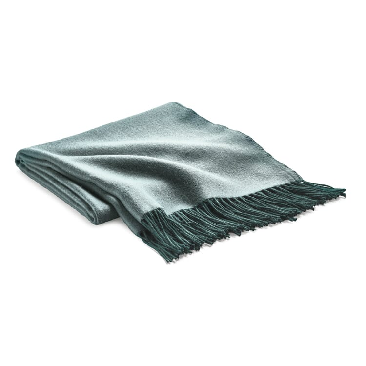 Blanket Double-Faced Fabric, Petrol
