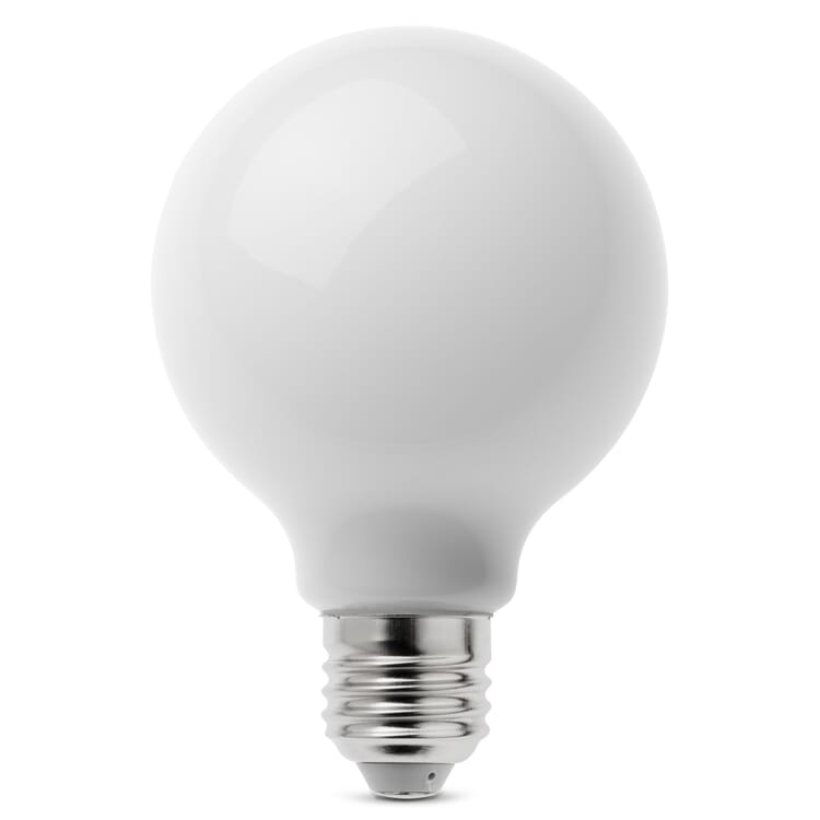 LED-Filament-Globelampe 80 mm E27