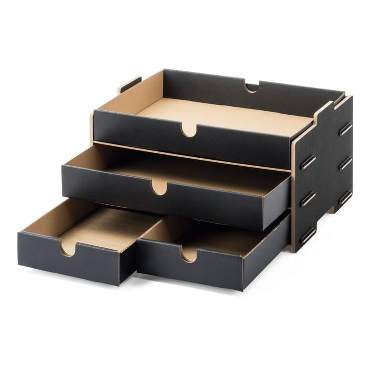 Werkhaus Schubladenbox HDF dreifach