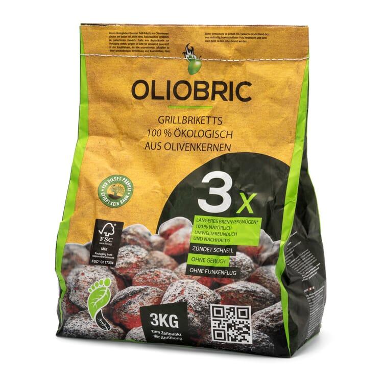 Grillkohle aus Olivenkernen
