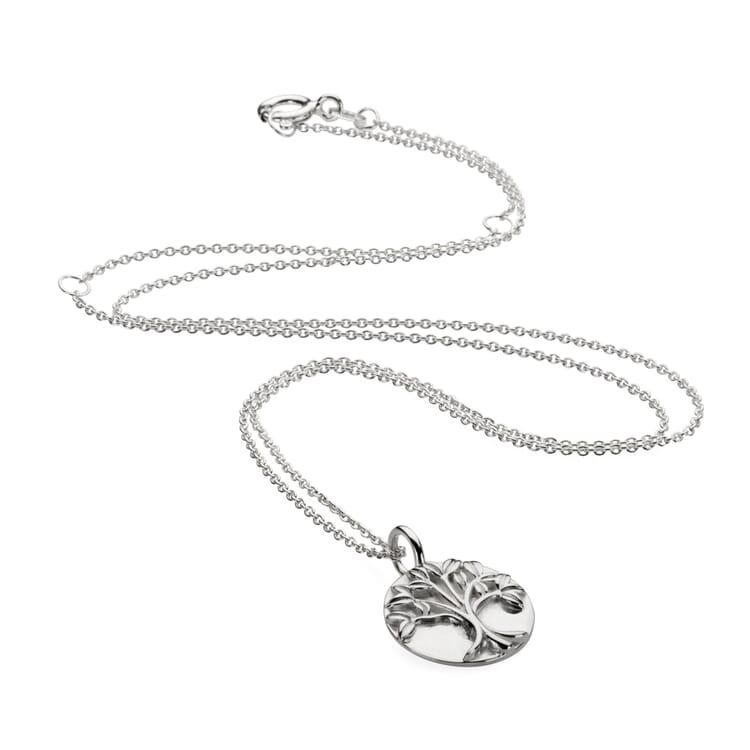 Halskette mit Anhänger Lebensbaum