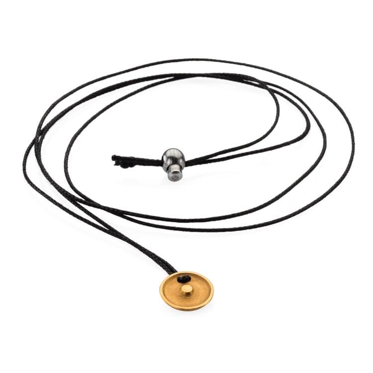 Halskette mit Anhänger Sonne/Goldsymbol