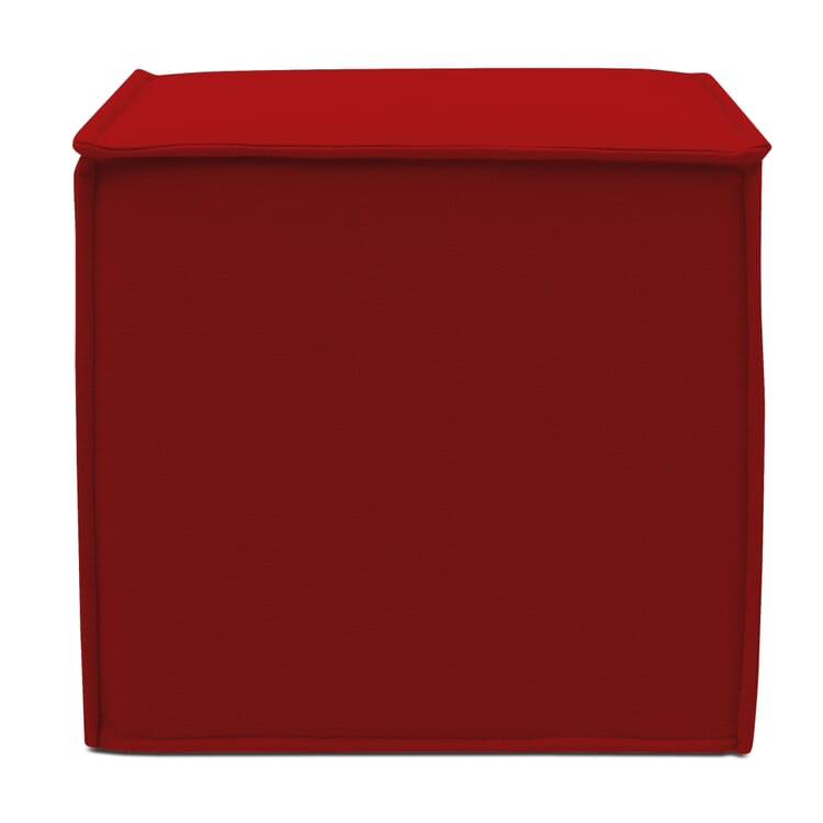 Seating Furniture CUBE, Red