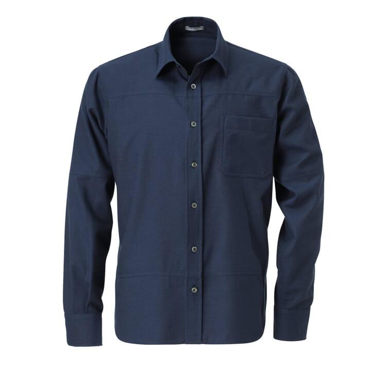 Men's Flannel Shirt, Dark blue