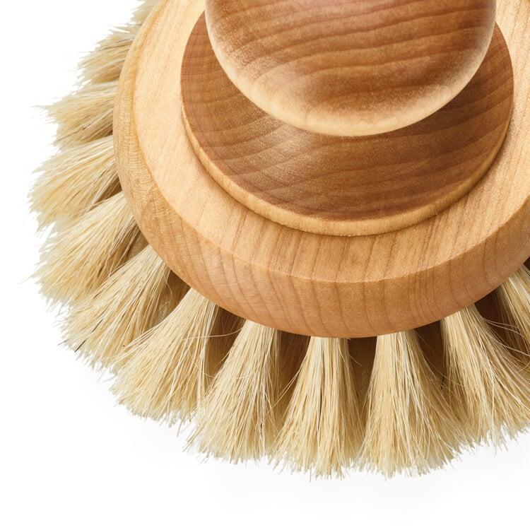 Bath Brush with Horsehair Bristles Large