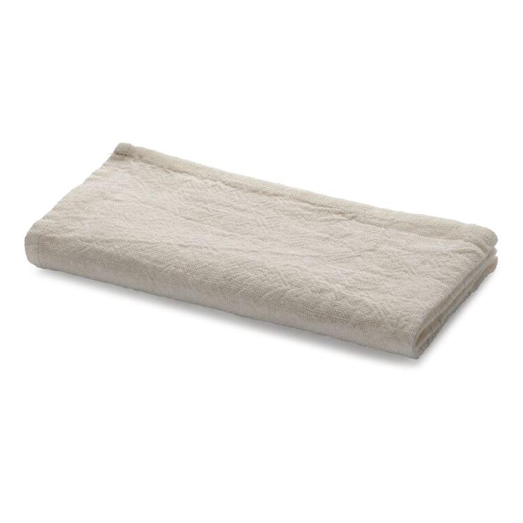 Serviette gewaschenes Leinen, Weiß