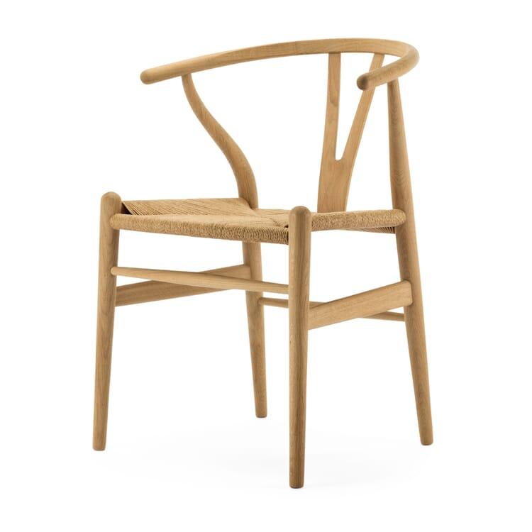 Armchair CH 24 Oak Wood