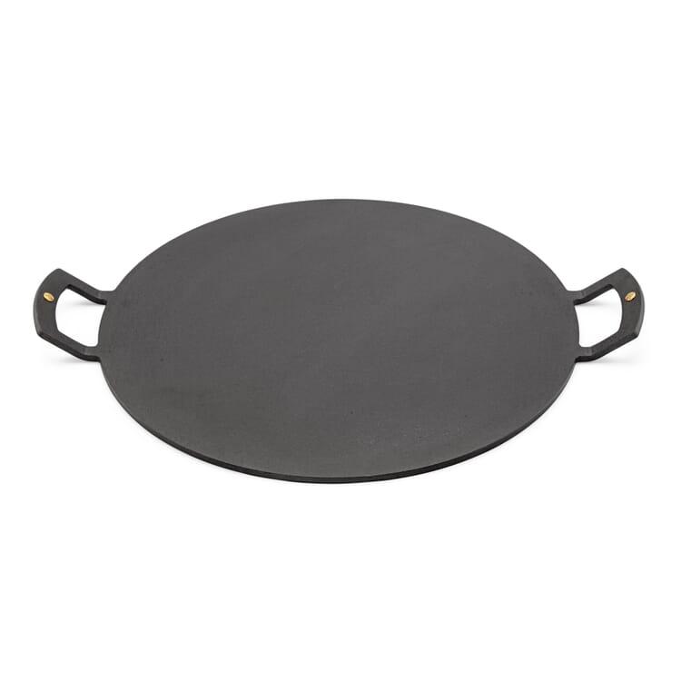 Grill- und Backplatte brüniert