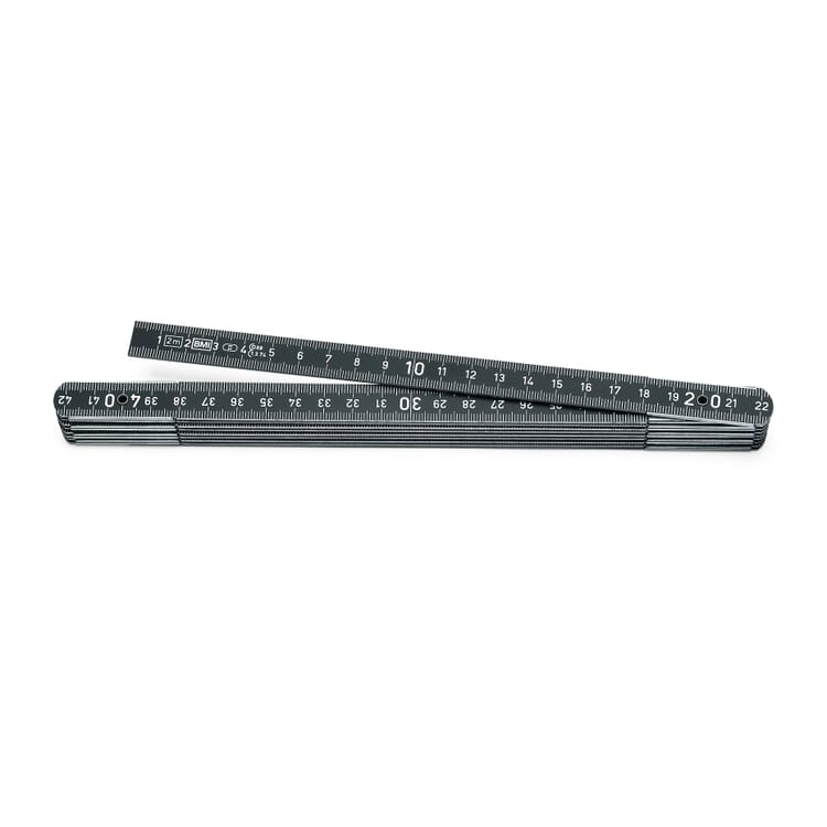 BMI Aluminum Folding Ruler