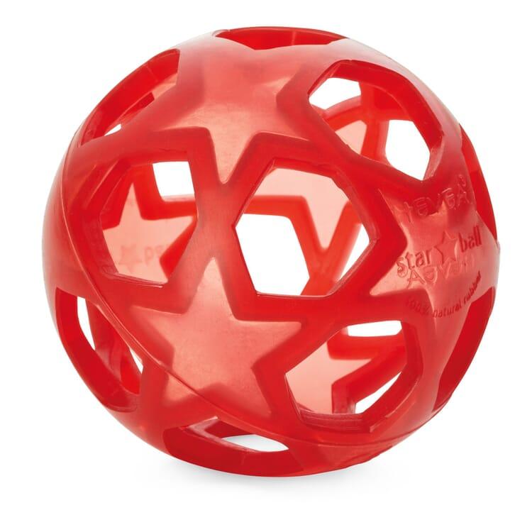 Hevea Ball Naturkautschuk, Rot