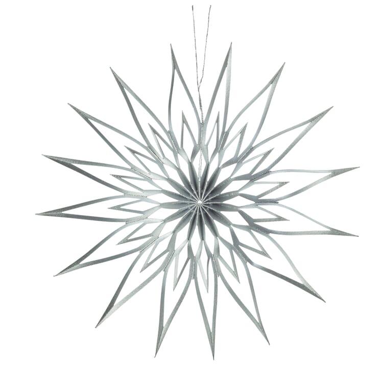 Stern Scherenschnitt, Silber