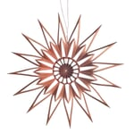 Stern Scherenschnitt Kupfer 9 cm