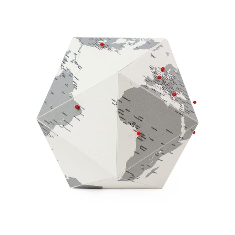 Paper globe, 3-dimensional, Towns
