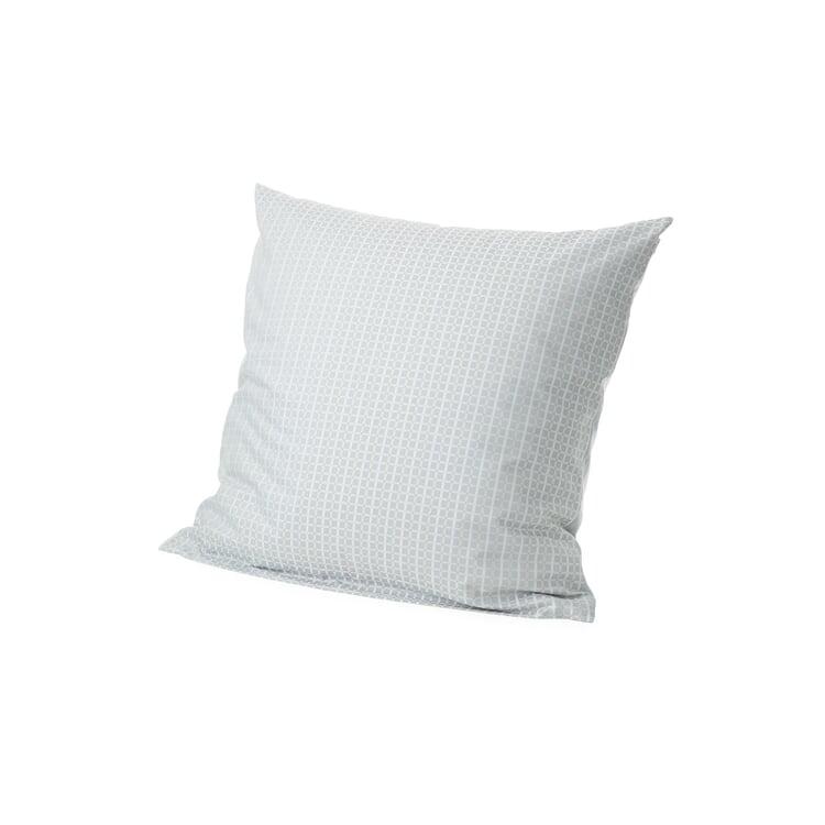 Pillowcase Checkered Pattern Weave Blue 80 x 80 cm