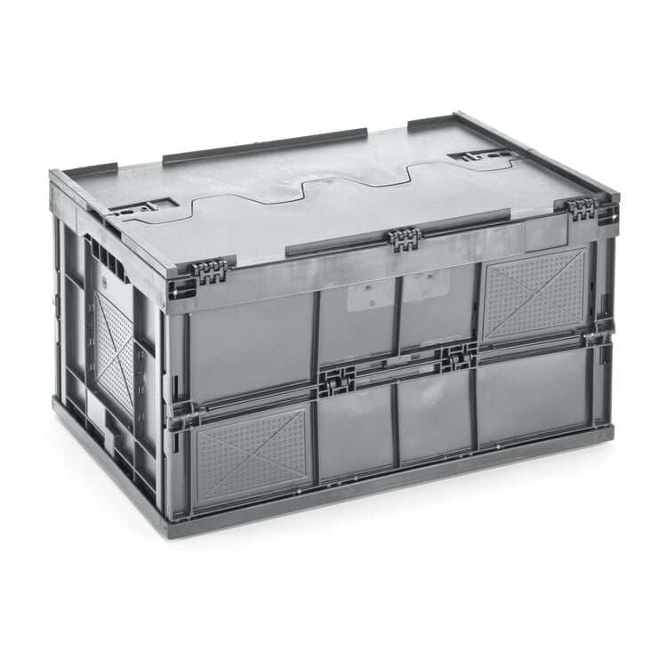 Folding Box Made of Recycled Plastic