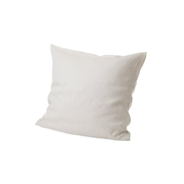 Cambric Made of Linen Pillow Case Quartz Grey 65 × 65 cm