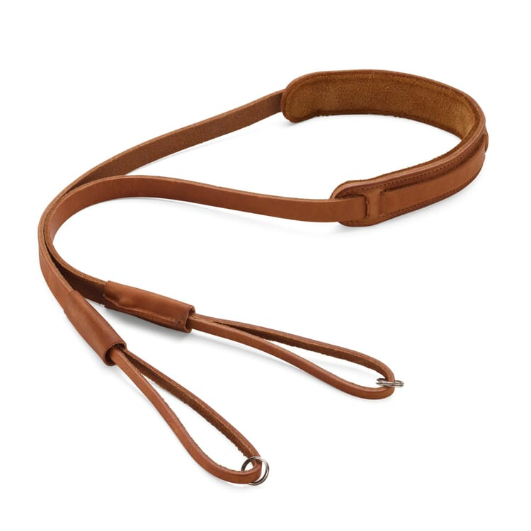 Camera Strap Made of Harness Leather, length 140 cm