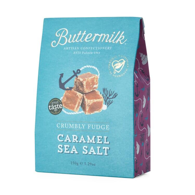 Buttermilk Crumbly Fudge Salzkaramell
