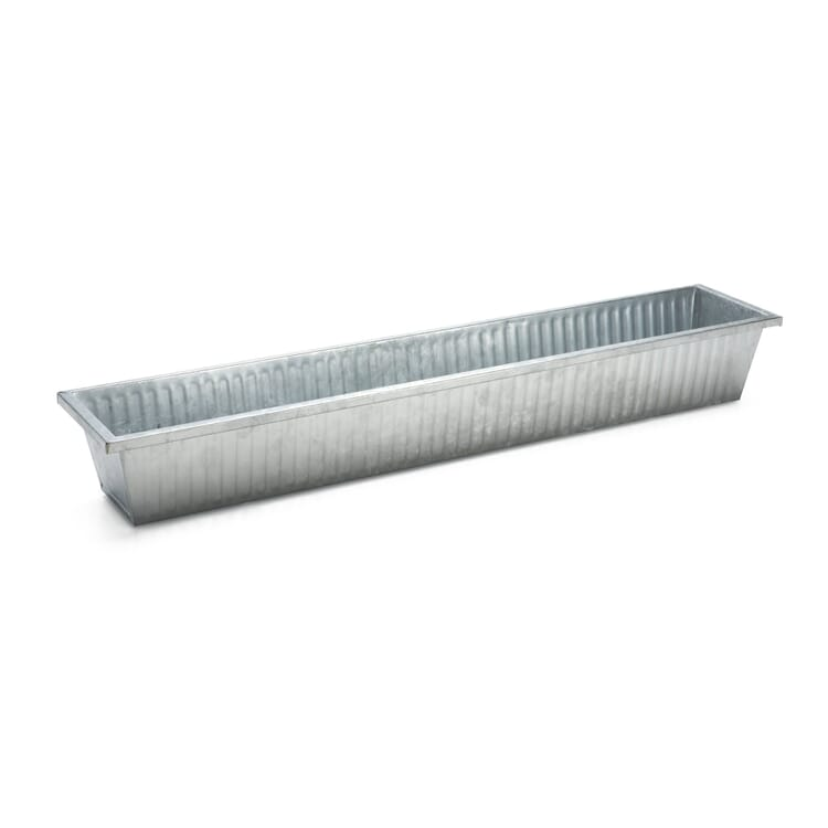 Galvanized Steel Balcony Box, Large