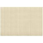 White Polled Heath Woven Carpet 250 x 350 cm