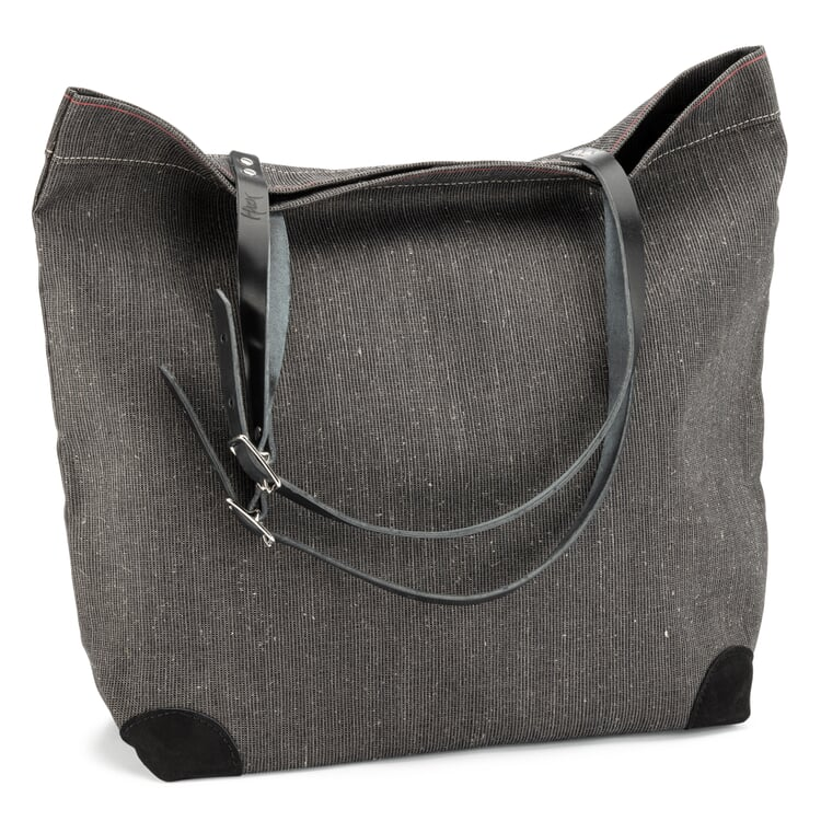 Market Bag Made of Canvas Anthracite