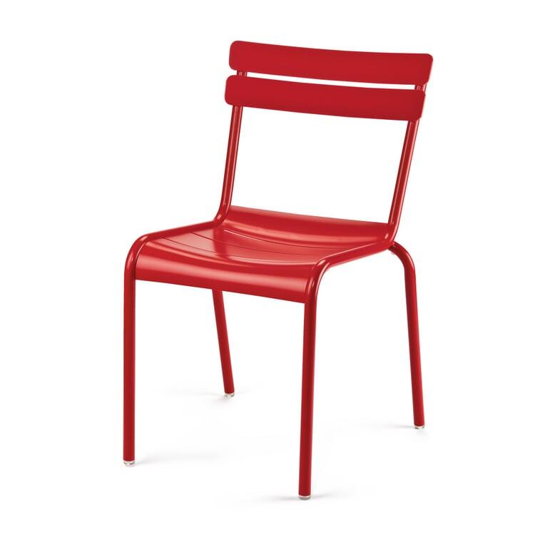 Garden Seat Aluminium Red