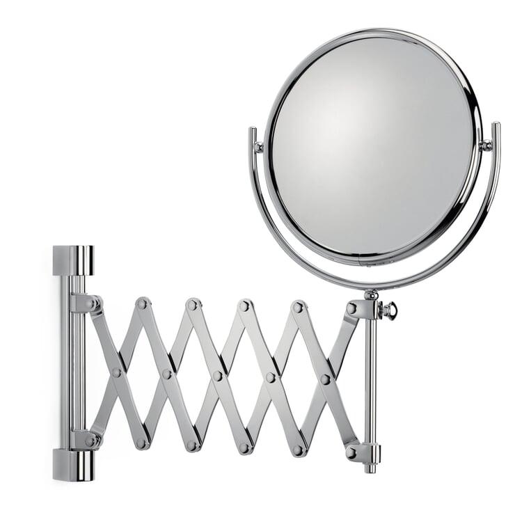 Spiegel Scherenmechanik 5-fach Vergrößerung