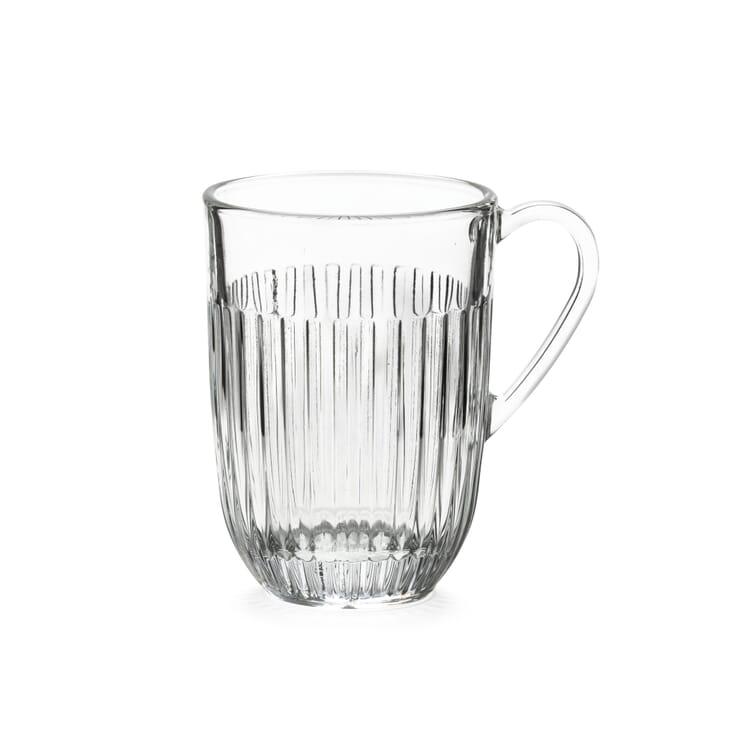 Glass Mug Ouessant by La Rochère