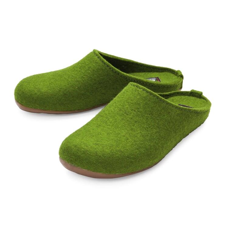 Haflinger Felt Slipper Green