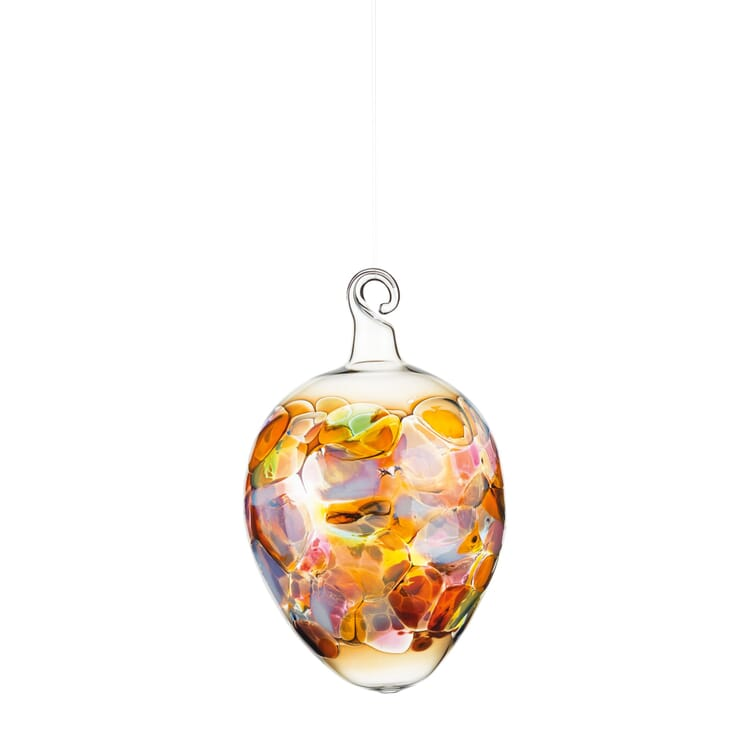 Lauschaer Glasvogel und Ostereier Glasgranulattechnik