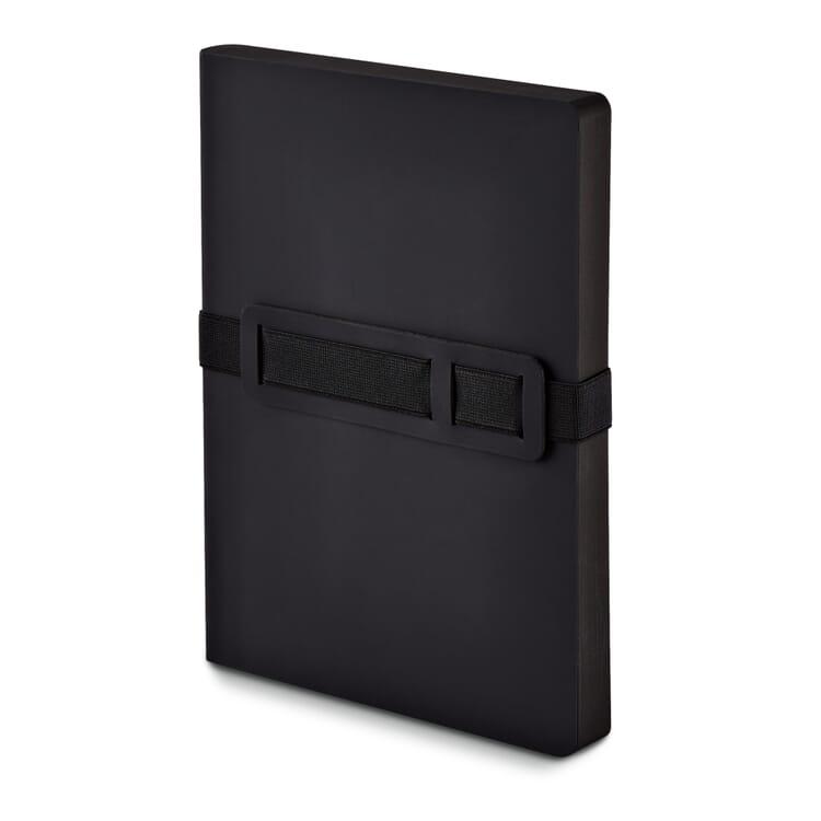 Notizbuch Voyager, schwarz