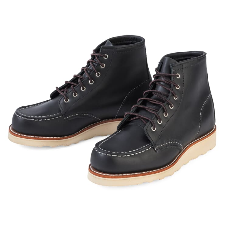 Red Wing Women's Moc Boot, Black