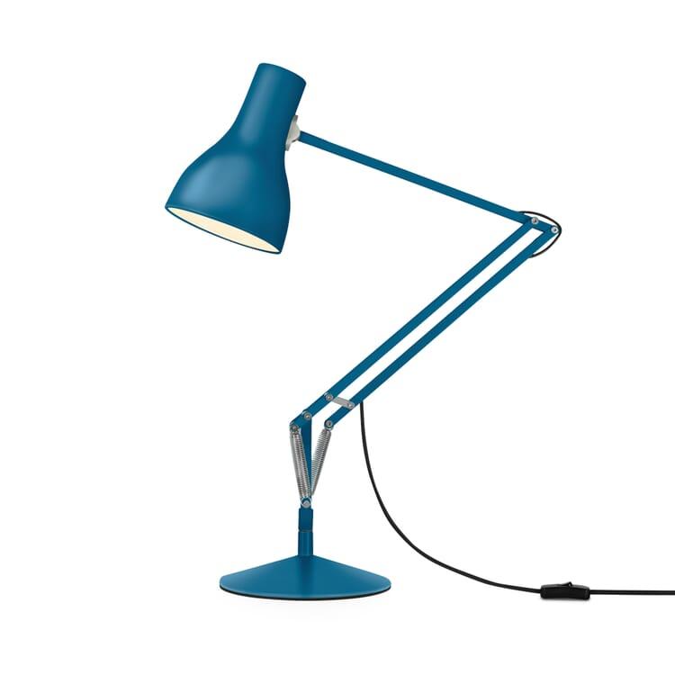 Tischleuchte Anglepoise® Typ 75 MHE, Sachsenblau