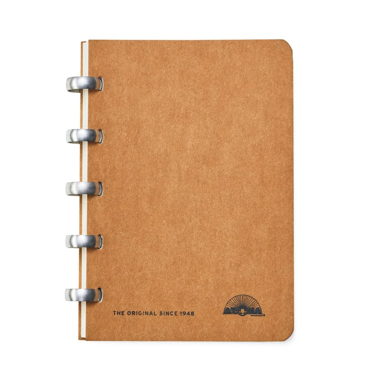 A6 Notebook with Blank Pages by Atoma
