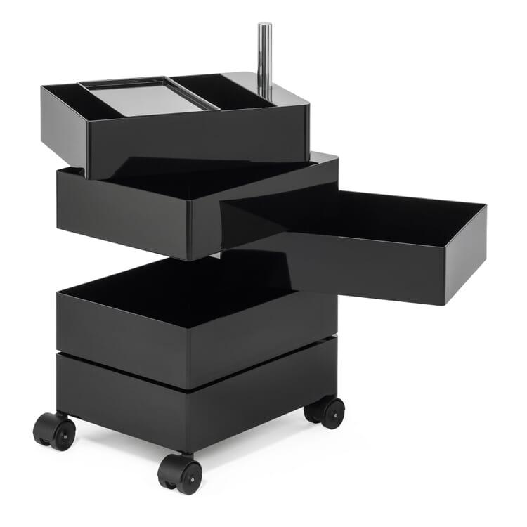 Small Container 360°, Black