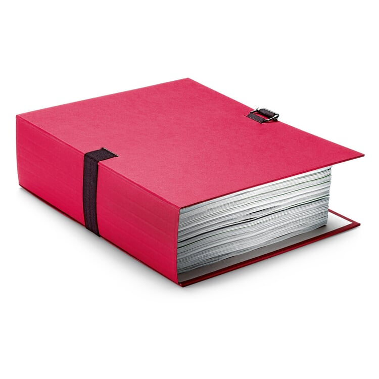Flexible Document Folder Red