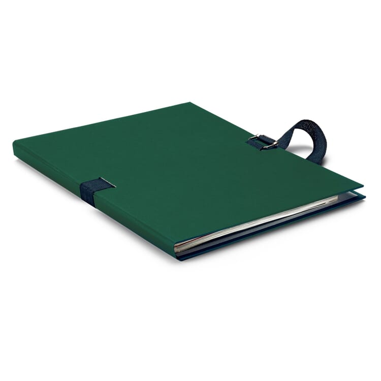 Flexible Document Folder, Green