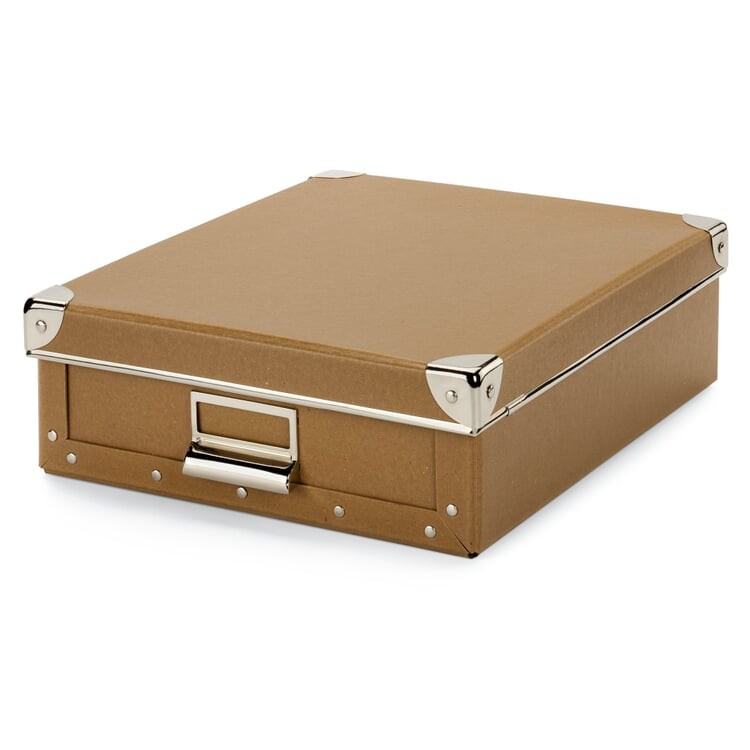 A4 Document Box Brown