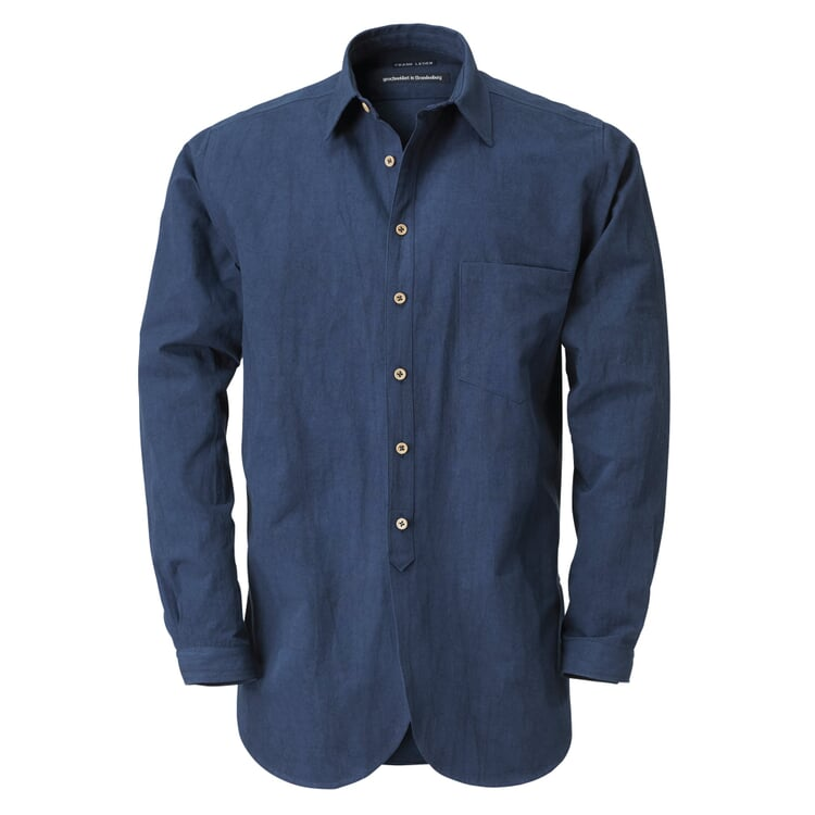 Frank Leder Men's Shirt Blue
