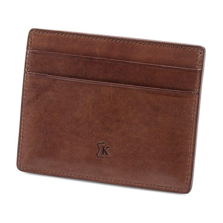 Leather Card Case with a Coin Pocket by Kreis
